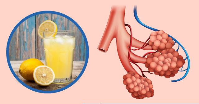 Борьба с астмой с помощью лимонного сока