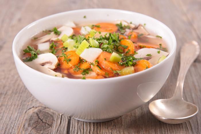 Диета на овощном супе -  Вкусно есть и не полнеть