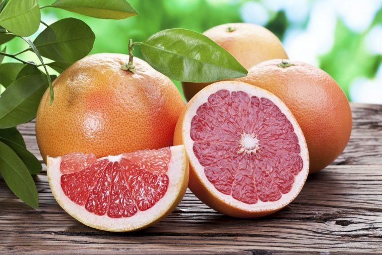 Польза грейпфрута для красоты и здоровья