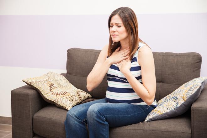 Как быстро избавиться от изжоги при беременности