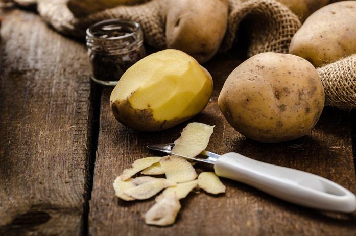 Кожура картофеля - лечебные свойства, применение в народной медицине